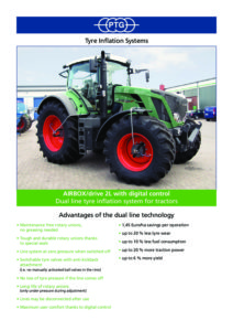 PTG tyre inflation | Waikato Tractors Limited