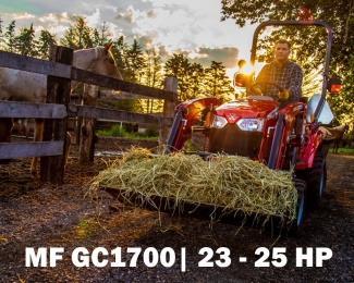 MF GC1700 | 23 - 25 HP